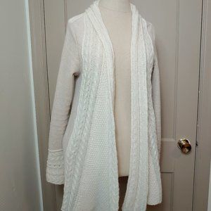 Knitted & Knotted Anthro Regan Mix Knit Cardigan